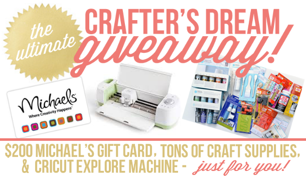 The Ultimate Crafter's Dream Giveaway!