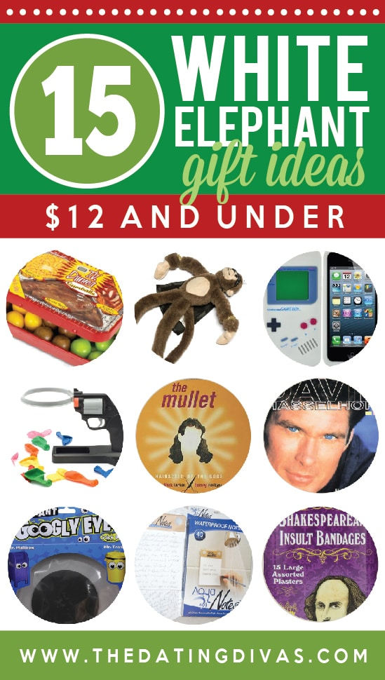 White Elephant Party Gift Ideas $12 and Under