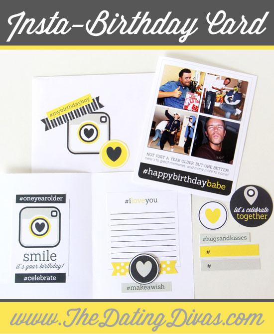 Unique Birthday Card for Him