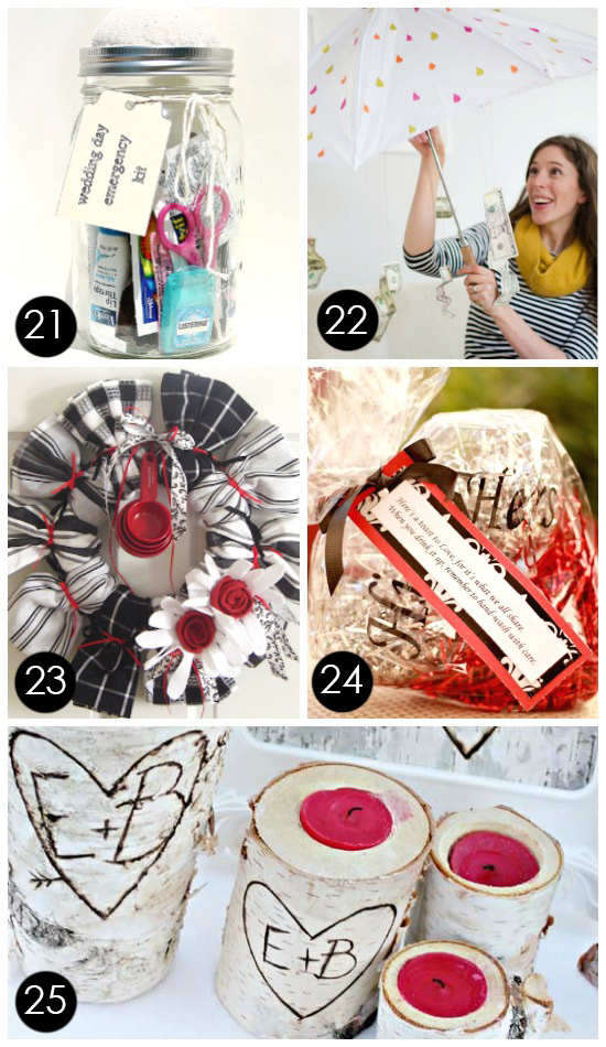 60+ BEST {& Most Creative} Bridal Shower Gift Ideas – PushUP24