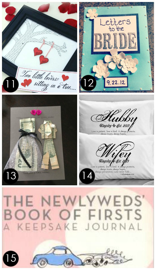 Unique Bridal Shower Gifts