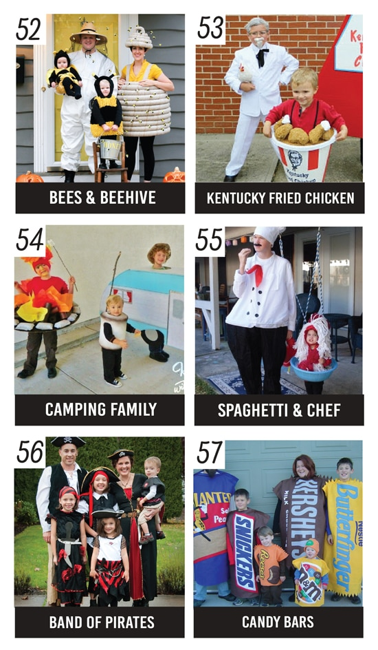 Unique Family Costume Ideas