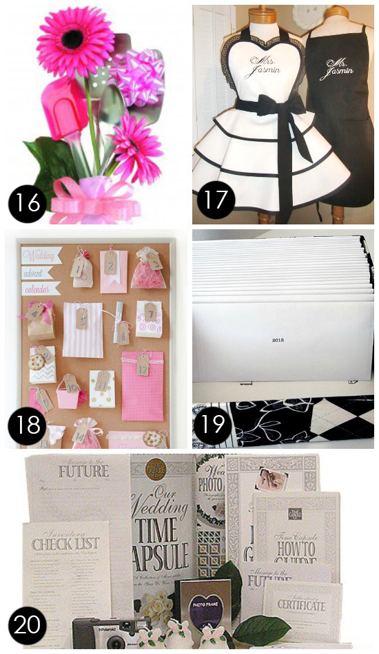 Cute Wedding Gift Ideas For Bride : 60+ BEST, Creative Bridal Shower Gift Ideas
