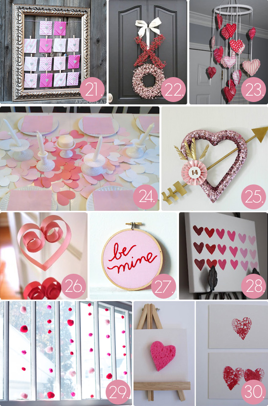 chrissy valentines decor round up 03 - Valentines Day Decor