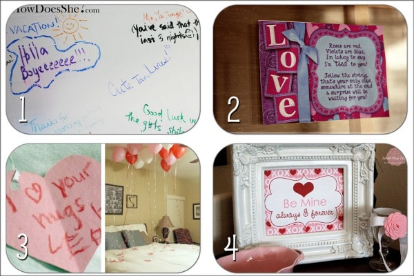 Quick and Easy Valentines Ideas - Super cute and romantic last minute valentines!! { lilluna.com }