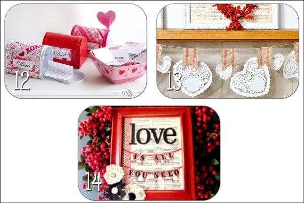 Valentine's Decor Ideas! Super cute and easy to make ideas!!