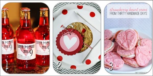 Yummy Valentine's Food Ideas! So delicious! Great ideas for your next party!