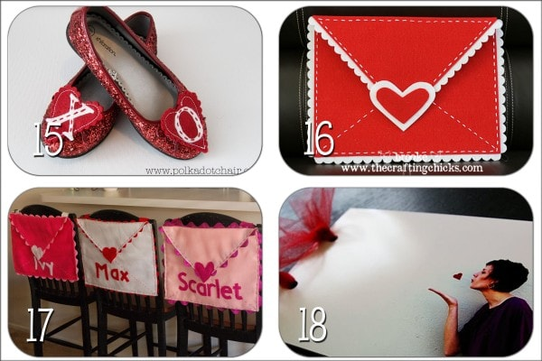 A collection of DIY Valentine's Gift Ideas!! Cute and easy to make gifts for all!