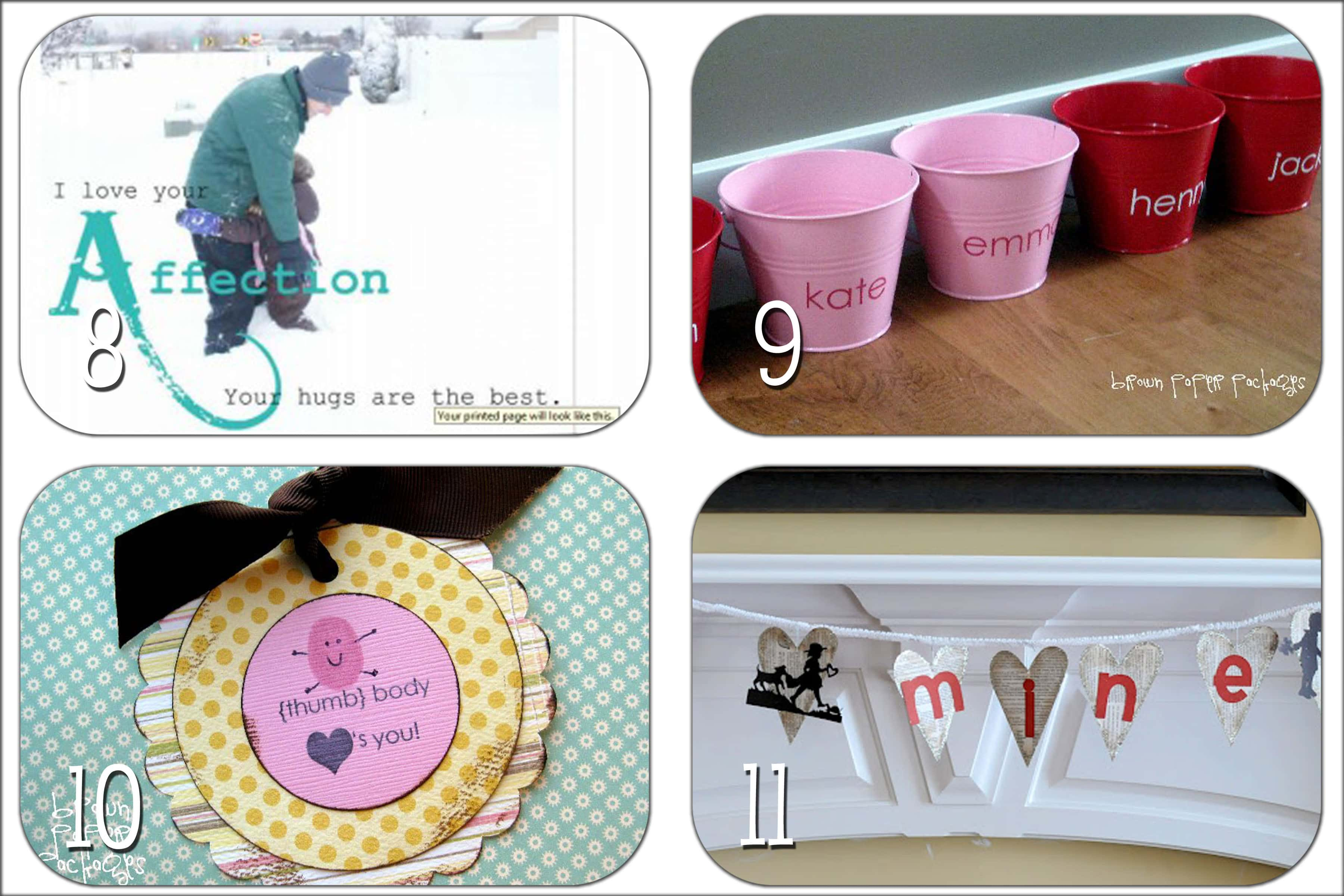 Valentine Idea Round-up #1: DIY Gifts - The Crafting Chicks