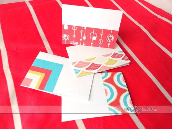 Valentines Advent Retro Cards