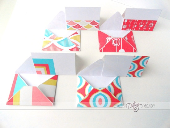 Valentine's Advent Calendar Coordinating Love Notes and Envelopes