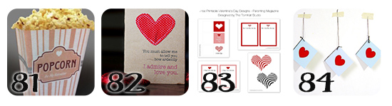 Creative Valentine Printable Gift and Ideas