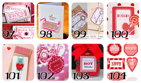 Free Valentine Printable Gift for Him