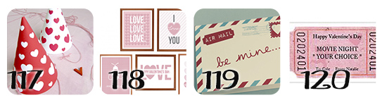 Valentine Printable Free and Easy