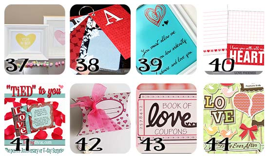 Free Valentine's Day Printables and Cards