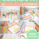 DIY vacation countdown chain with free printalbes