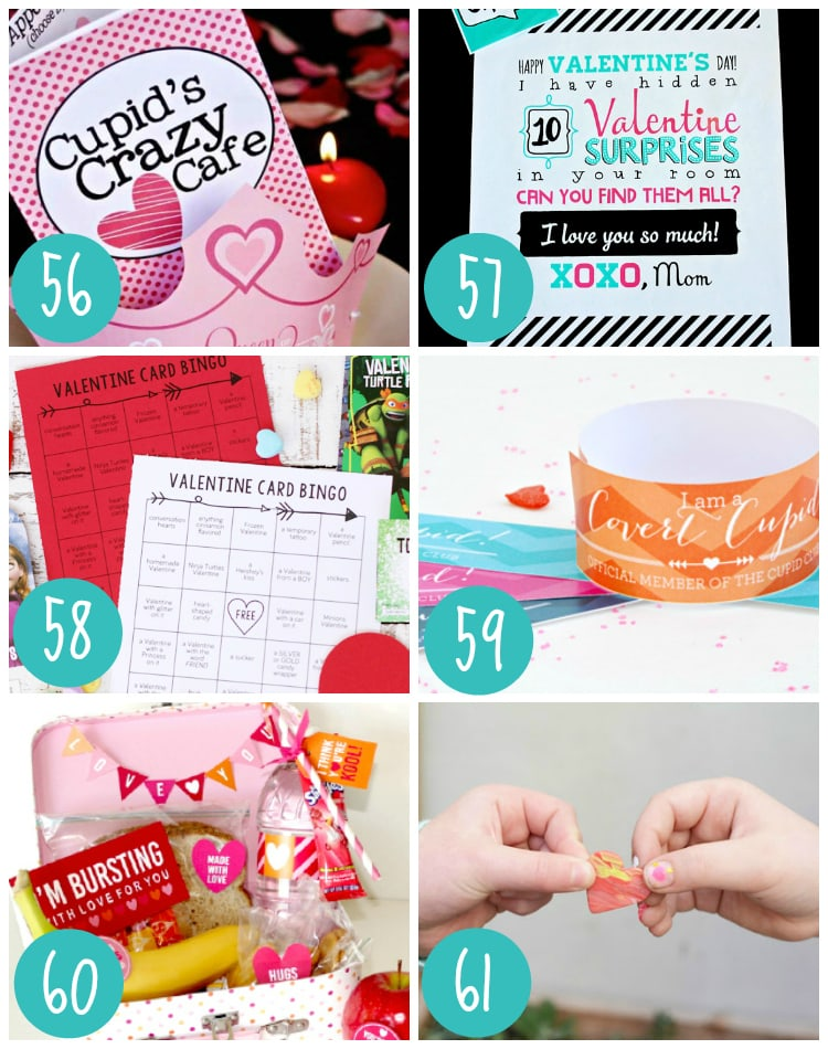 Valentine Crafts and Activities