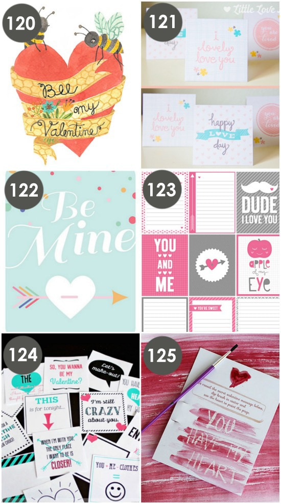 Valentine Love Notes Free ideas