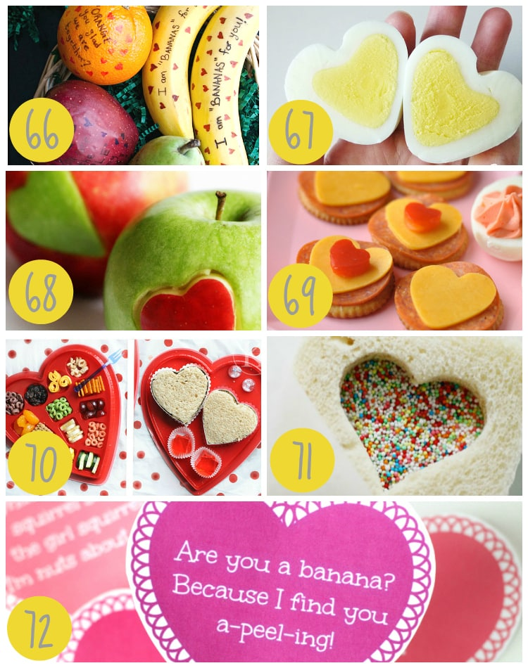 Kids Valentines Lunch Ideas