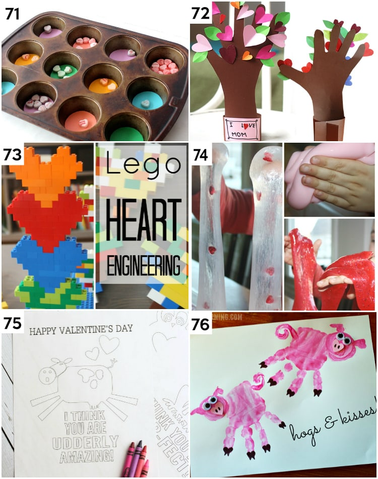 Clever Valentine's Day Gifts and Crafts for Kids