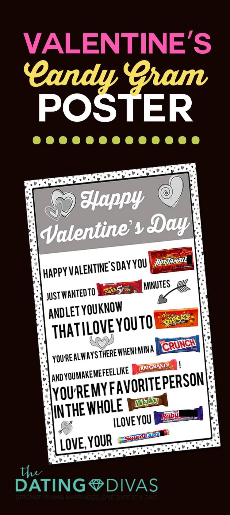 Valentine's Candy Gram