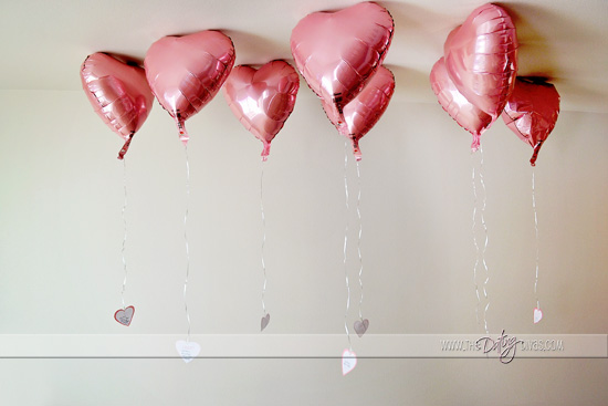 Romantic Valentine's Day Card Kits With Balloons