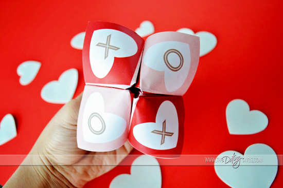 DIY Valentine Cootie Catcher