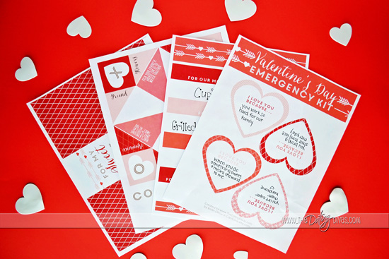 Last-minute Valentine's Day Printables