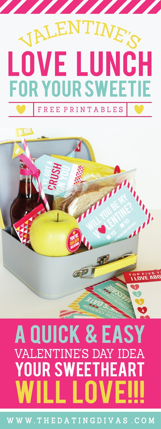 Valentine's Day Love Lunch for your Spouse