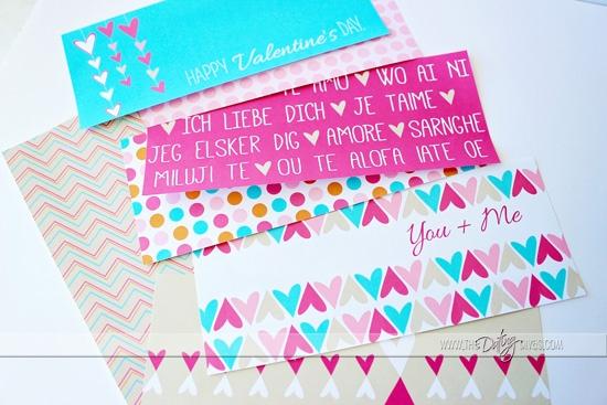 Valentine's Gift Box Printables