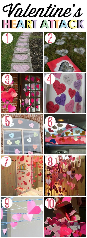 Valentine's Heart Attack Ideas