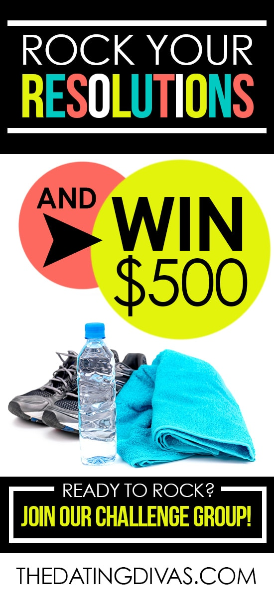 Need a little motivation to stick with those New Year's resolutions?  How about the chance to win $500?!