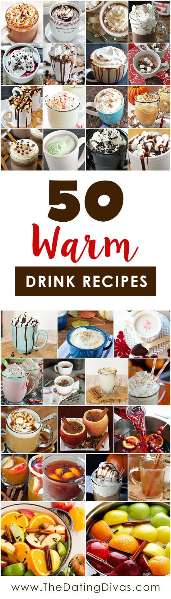 Delicious and Cozy Warm Drinks with Recipes for Fall and Winter