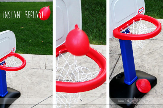 Water Ballon Basketball Game