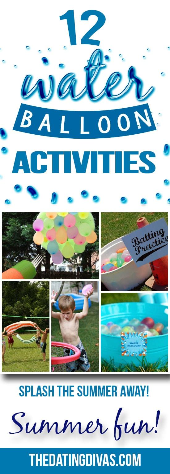 Fun outdoor water games!