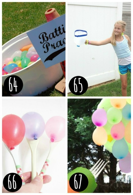 Water balloon games that are sure to please a crowd!