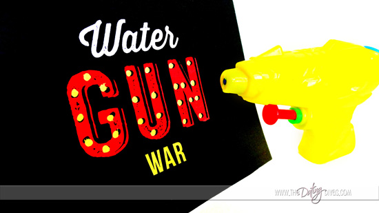 Water Gun War Game