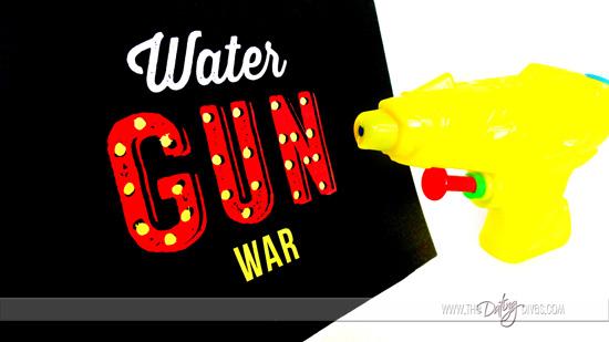 Water Gun War Game