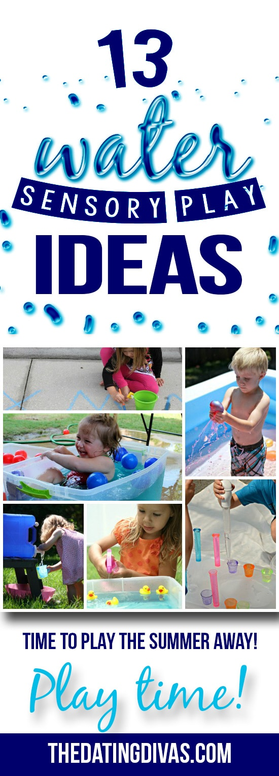 Water Play To Keep Cool This Summer