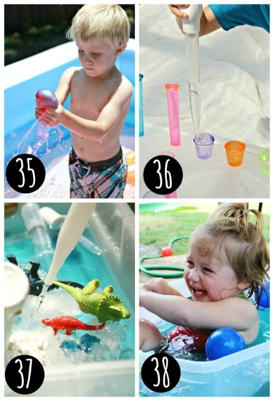 Sensory play for kids of all ages.