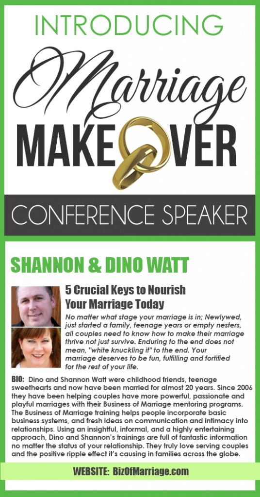Camille - Marriage Makeover Conference Watt Pinterest