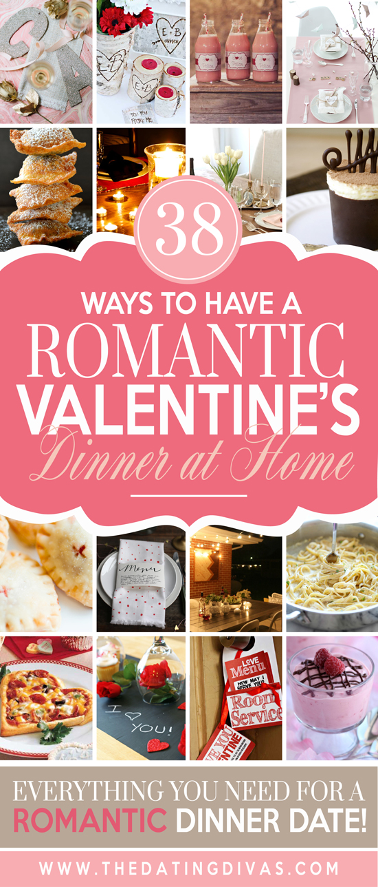 How to Have a Romantic Valentines Dinner at Home