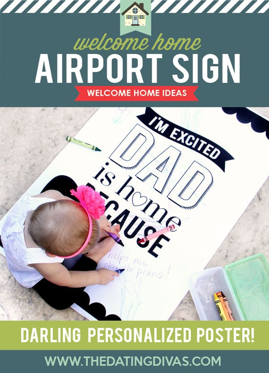 Welcome Home Kit Airport Sign