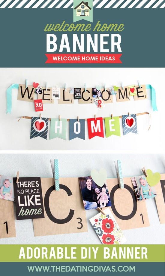 image about Welcome Home Banner Printable identified as Welcome House Printable Get together Package