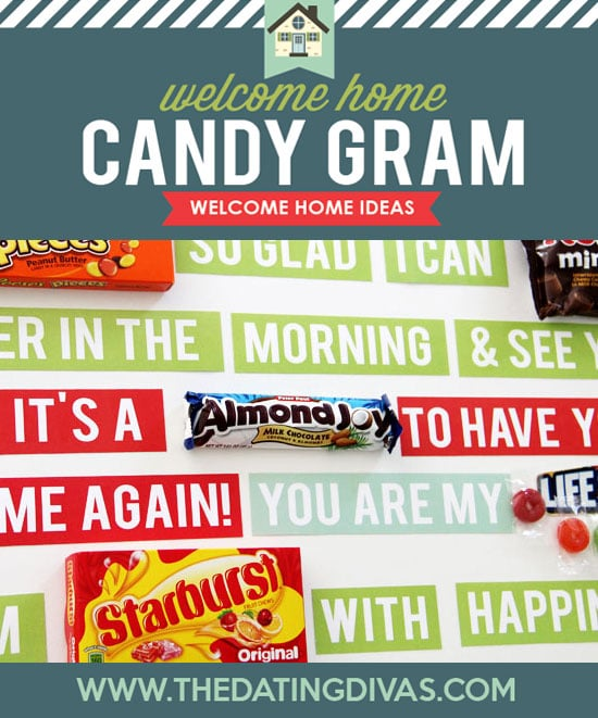 Welcome Home Kit Candy Gram