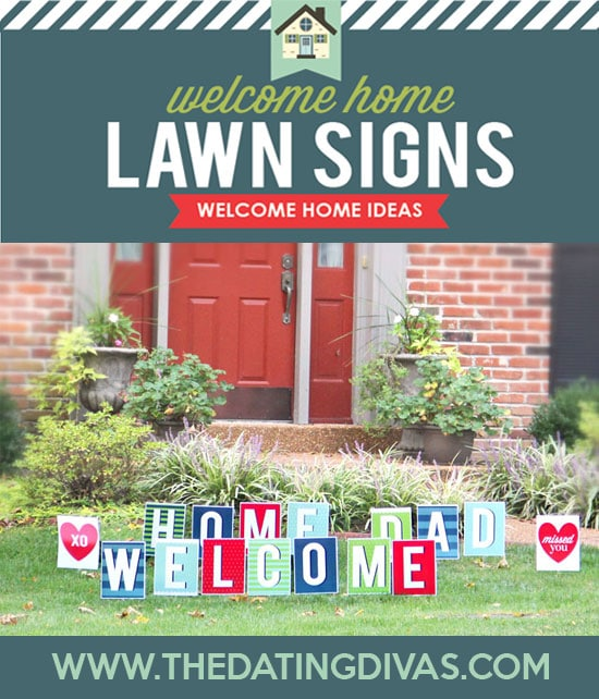 Welcome Home Kit Lawn Signs