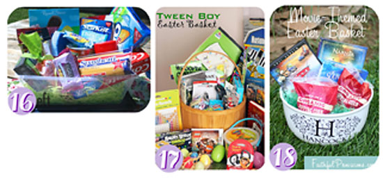 20 easter basket ideas for everyone on your list wendy easter collage 16 18 16 for the college student negle Images