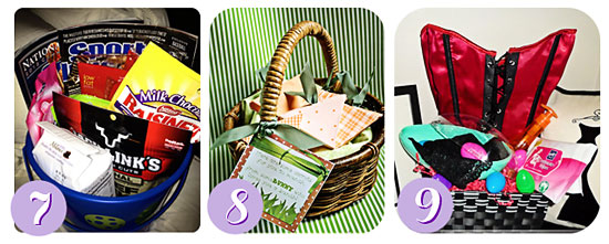 20 easter basket ideas for everyone on your list wendy easter collage 7 9 negle Images
