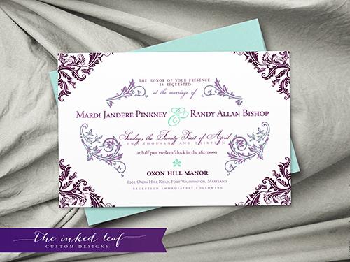 Wendy-Sameeha-Springtime Invitation