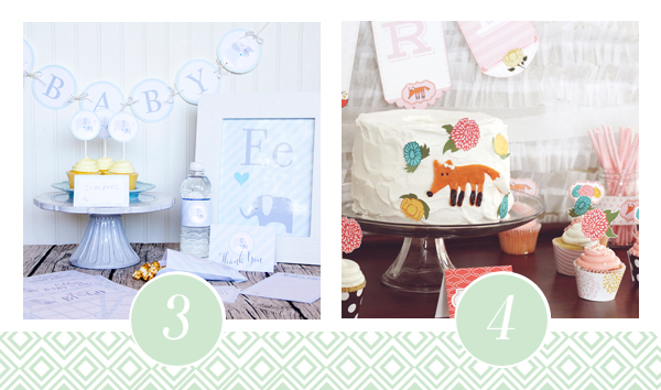 What Does The Fox Say? Baby Shower Printable Pack